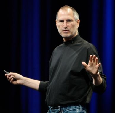 Steve Jobs in a turtleneck