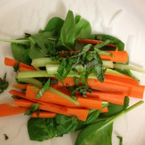 Healthy Comfort: Fresh Spring Rolls and Gingery Miso Soup
