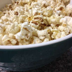 Comfort Snacking: Truffled Popcorn