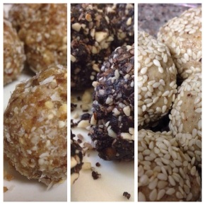 Raw Energy Cookies (for the Paleo person in yourlife)