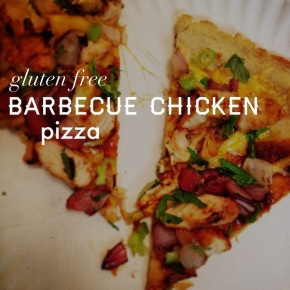 Gluten Free Barbecue Chicken Pizza