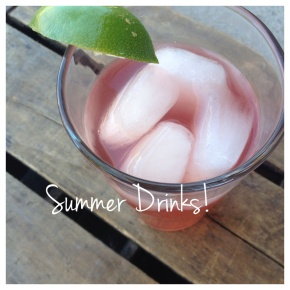 Pomegranate and LimeSpritzer